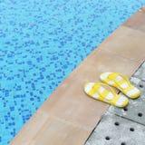 Women's sandals Stock Images