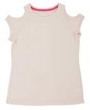Women's shirt isolated on white background Stock Photography