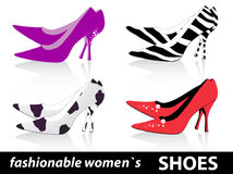 Women`s shoes Stock Image