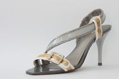 Women's shoes. Royalty Free Stock Photo