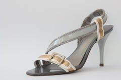 Women's shoes. This photograph shows a seasonal fashion women's shoes Royalty Free Stock Photo