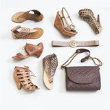 Women's shoes Royalty Free Stock Photos