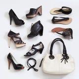 Women's shoes Stock Photos