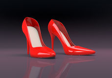 Women's shoes Stock Photography