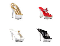 Women's shoes Fashion. stock photography