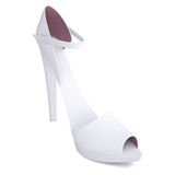 Women's shoes. Render on a white background Stock Images