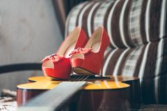 women`s shoes Stock Images