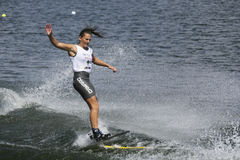 Women's Shortboard Action - Marion Aynaud Stock Images