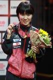 Women`s Singles Awards Hitomi Sato from Japan Stock Photography
