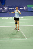 Women's Singles Badminton - Hongyan Pi Royalty Free Stock Photo