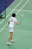 Women's Singles Badminton - Mi Zhou Stock Photography