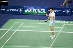 Women's Singles Badminton - Mi Zhou Stock Photos