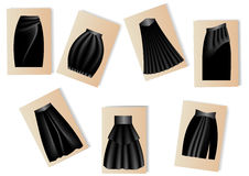 Women's skirts Stock Photo