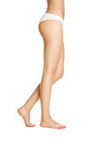 Women's slender legs Royalty Free Stock Images