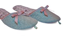Women's Slippers are Like Ballet Flats Royalty Free Stock Photography