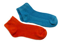 Women's Socks. On a white background Stock Images