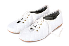 Women's sport shoes Royalty Free Stock Images