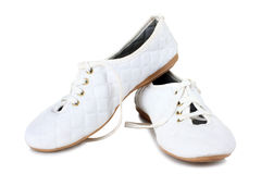 Women's sport shoes Royalty Free Stock Photos