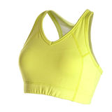Women's sports bra Stock Image