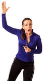 Women's Sports Coach Royalty Free Stock Photo
