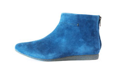 Women`s suede boot Stock Images