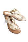 Women's summer sandals. Royalty Free Stock Image