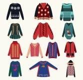 Women's sweaters - Illustration Stock Photos