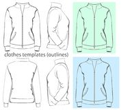 Women's sweatshirt Stock Images