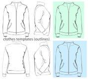 Women's sweatshirt Stock Images