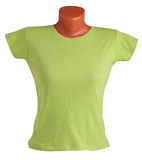 Women's T-shirt on a mannequin Stock Image
