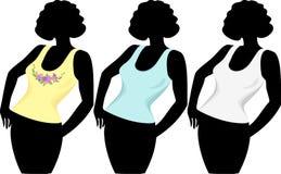 Women`s T-shirts Stock Photo