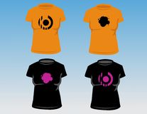 Women's T-shirts Stock Images