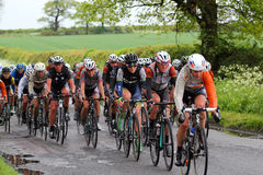 Women's Tour international cycle race. Stock Photo