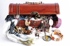 Women's treasure box Stock Image