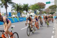 Women`s triathlon at Rio2016 Royalty Free Stock Images