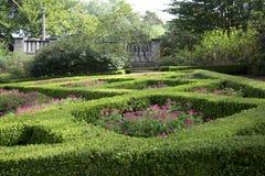 Women& x27; s tuin in Dallas Arboretum royalty-vrije stock foto