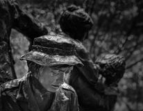Women`s Vietnam memorial in Washington Stock Images