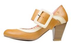 Women's Vintage Shoe Royalty Free Stock Photos