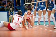 Women's volleyball Royalty Free Stock Image