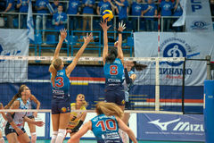 Women's volleyball Stock Photography