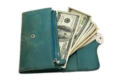 Women's wallet Royalty Free Stock Image