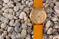 Women's Watch on the Gravel Royalty Free Stock Images