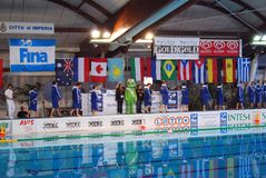 Women's water polo - Italy Stock Images