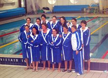 Women S Water Polo - Italy Royalty Free Stock Photo