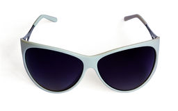Women's white sunglasses Stock Photography