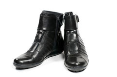 Women's winter boots Stock Images