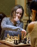 Women's World Chess Championship 2016 Lviv Royalty Free Stock Images