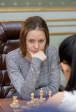 Women's World Chess Championship 2016 Lviv Royalty Free Stock Image