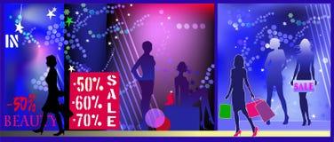 Women sale shopping Royalty Free Stock Image