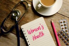 Women& x27; salud de s fotografía de archivo